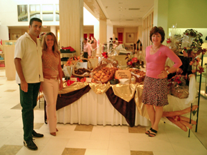 DF Bakery at Cancer Society Fundraiser