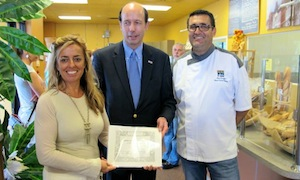 DF Bakery recognition for representing the French community oversees
