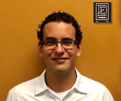 Armando Balladares, Production Manager at DF Bakery