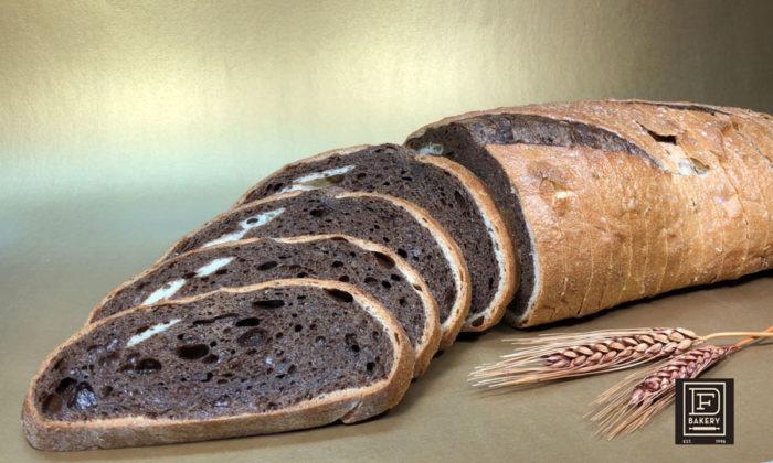 Artisan Marble Rye Loaf by DF Bakery