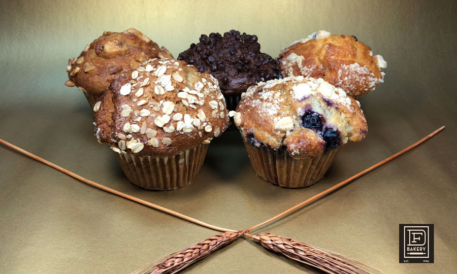 Large Assorted Muffins from DF Bakery