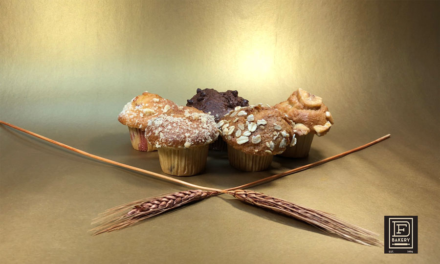Small Assorted Muffins from DF Bakery