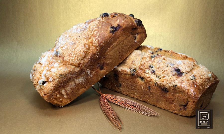 Blueberry Breakfast Bread from DF Bakery