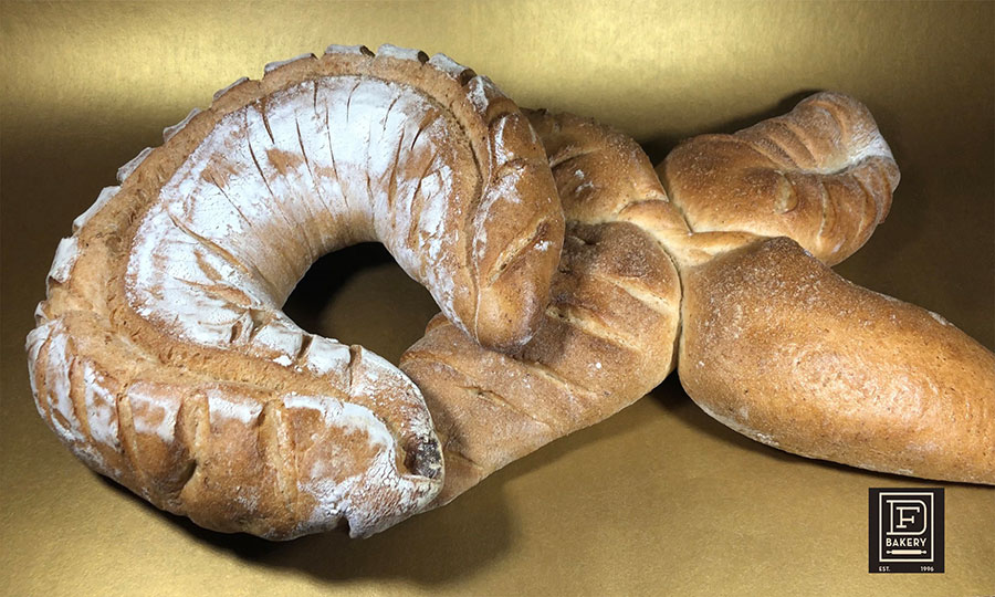 Assorted Display Breads