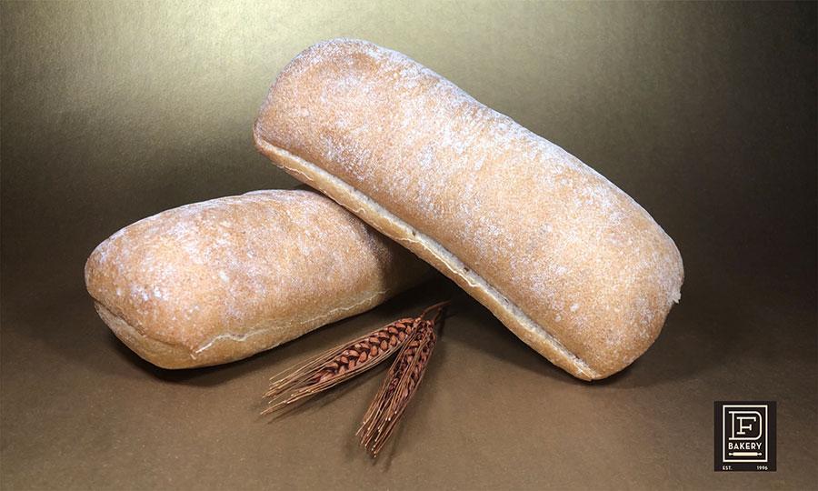 """7"""" x 3"""" Ciabatta Sandwich Bread"""