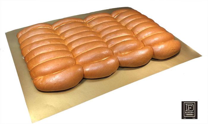 Brioche Parker House Hotdog Buns, 32 Count