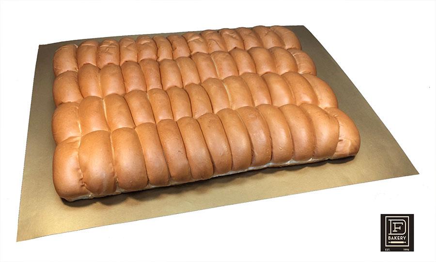 Brioche Parker House Hotdog Buns, 52 Count