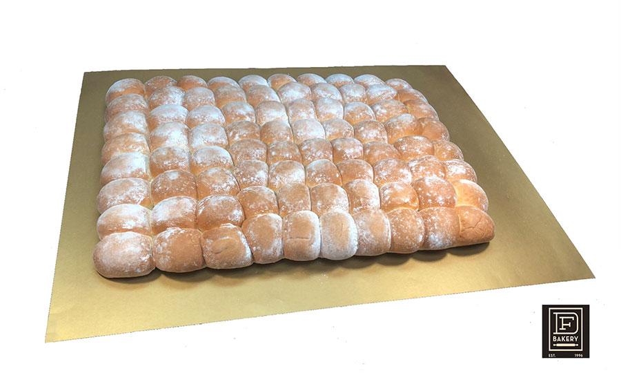 Parker House Potato Rolls, Flour Topped