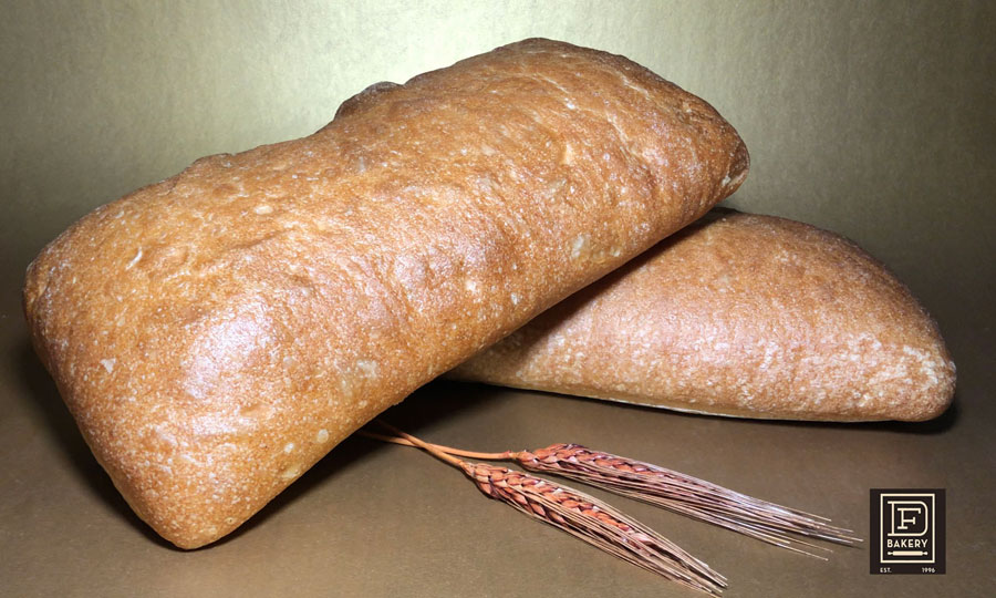 "Ciabatta Loaf, 6"" x 22"" from DF Bakery in Florida"