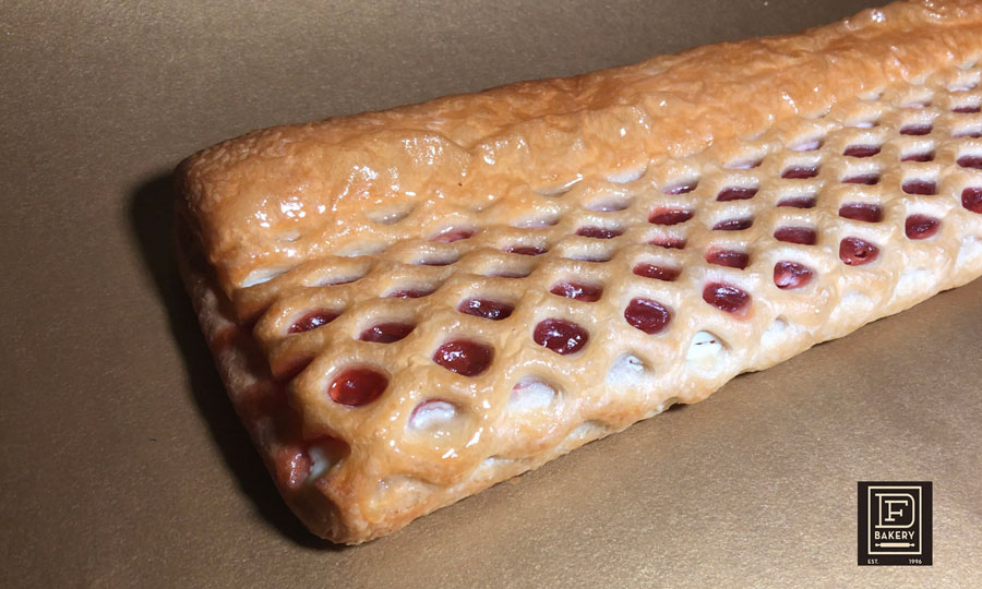 Guava and Cheese Lattice, DF Bakery