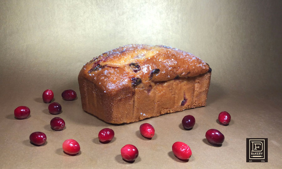 Orange Cranberry Breakfast Bread from DF Bakery