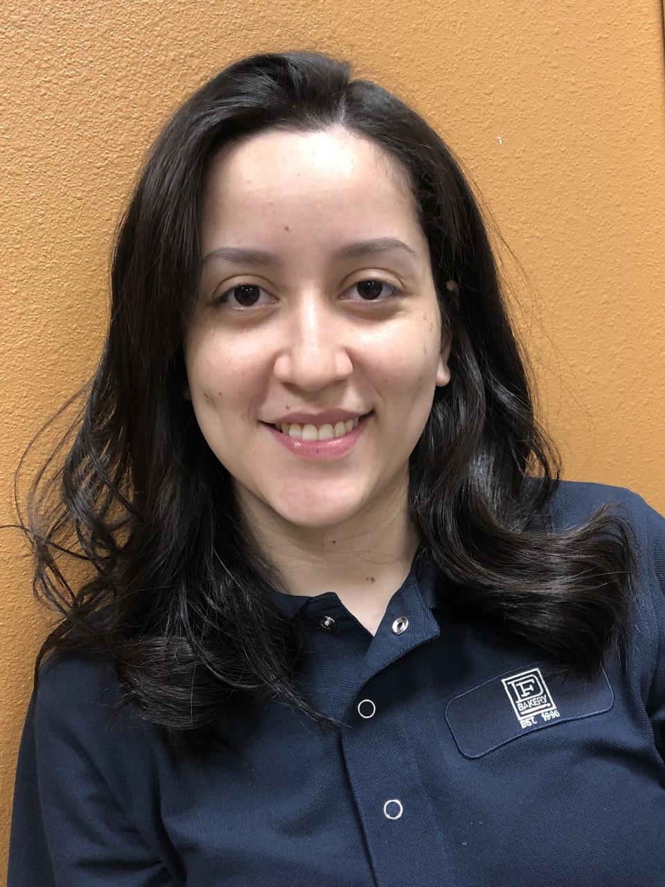 Karlen Hunter, Office Assistant & Ordering Leader at DF Bakery